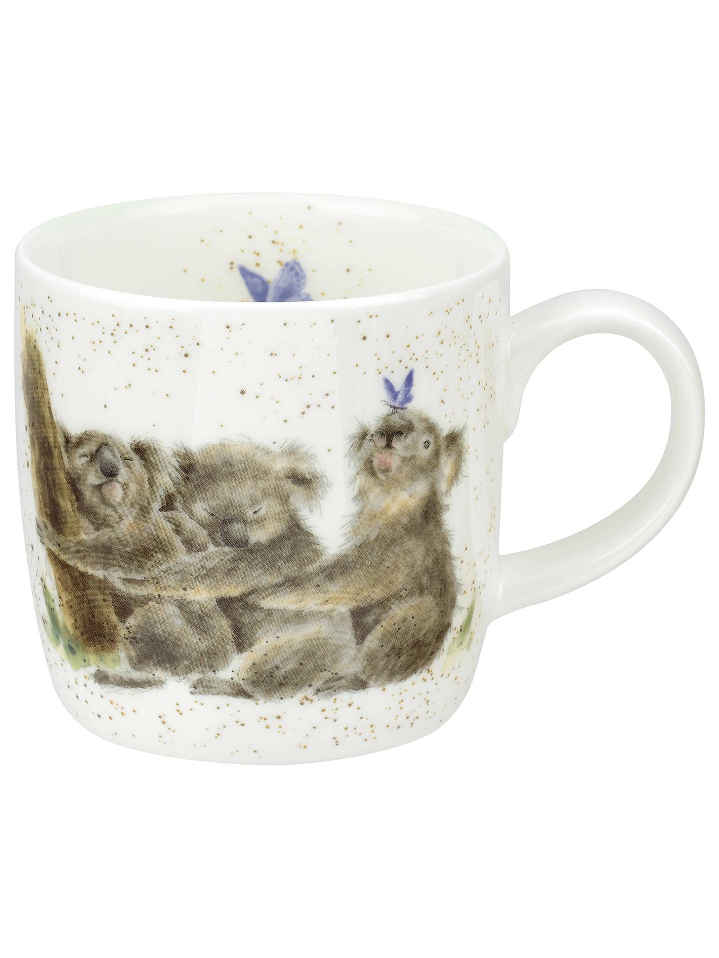 royal worcester wrendale koala mug multi 310ml at john. Black Bedroom Furniture Sets. Home Design Ideas