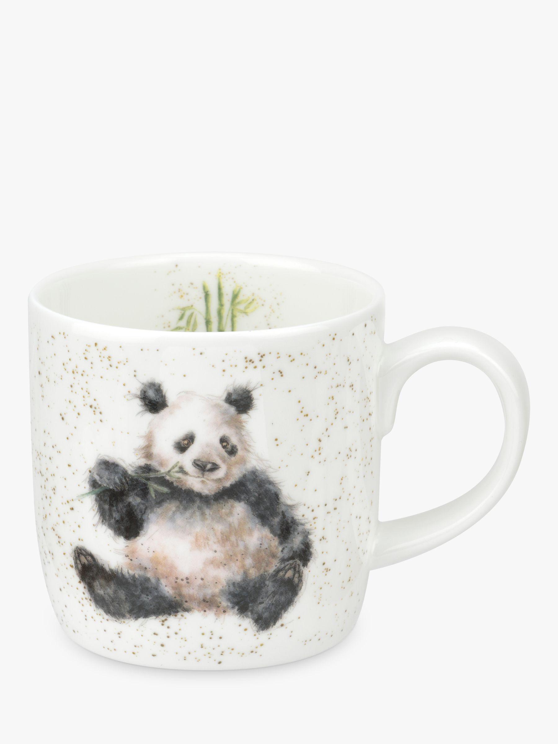 royal worcester wrendale panda mug multi 310ml. Black Bedroom Furniture Sets. Home Design Ideas