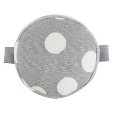 Buy John Lewis Spot Print Wrist Pin Cushion, Grey Online at johnlewis.com