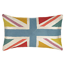 Buy John Lewis Bright Union Jack Cushion, Multi Online at johnlewis.com