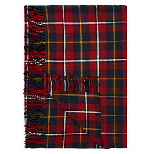 Buy John Lewis Christmas Check Throw Online at johnlewis.com