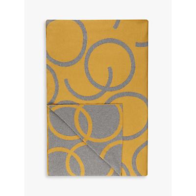 House by John Lewis Hula Throw, Mustard