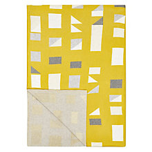 Buy John Lewis Felix Throw, Citrine Online at johnlewis.com