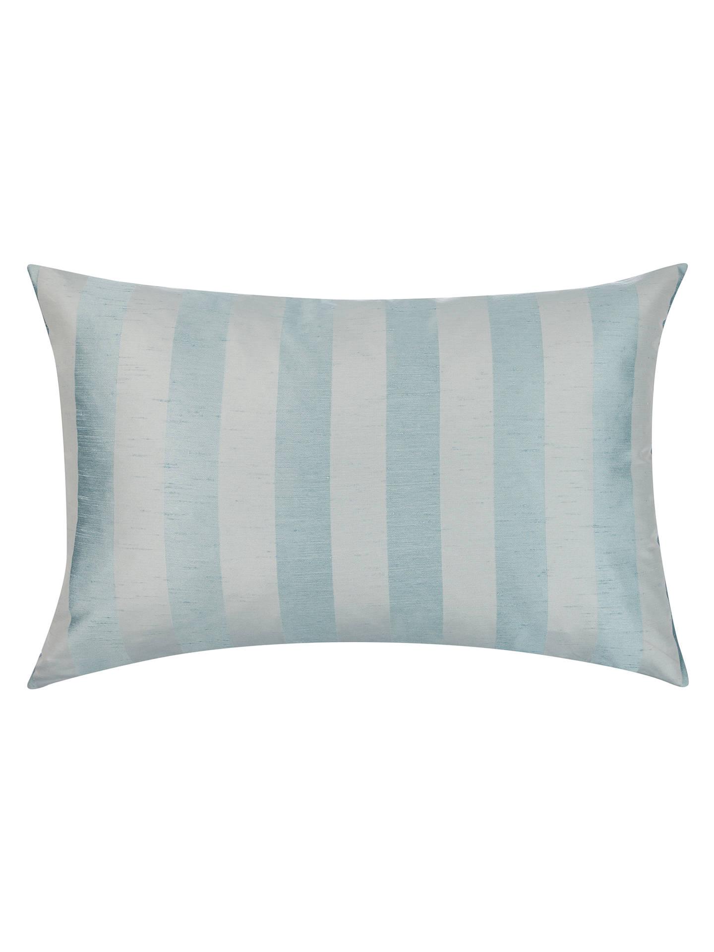 john lewis partners faux silk stripe cushion at john. Black Bedroom Furniture Sets. Home Design Ideas