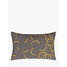 Buy House by John Lewis Hula Cushion, Mustard Online at johnlewis.com