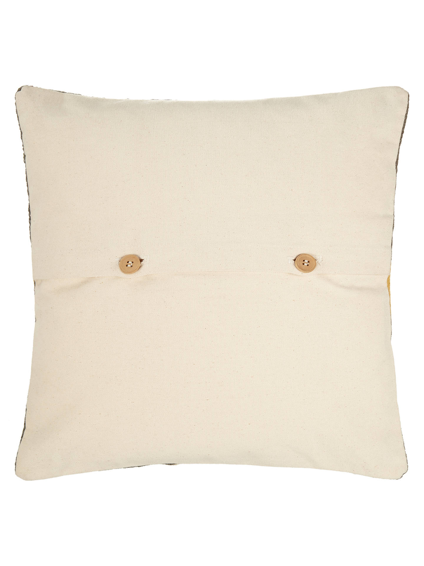 BuyJohn Lewis Oculus Cushion, Citrine / Grey Online at johnlewis.com