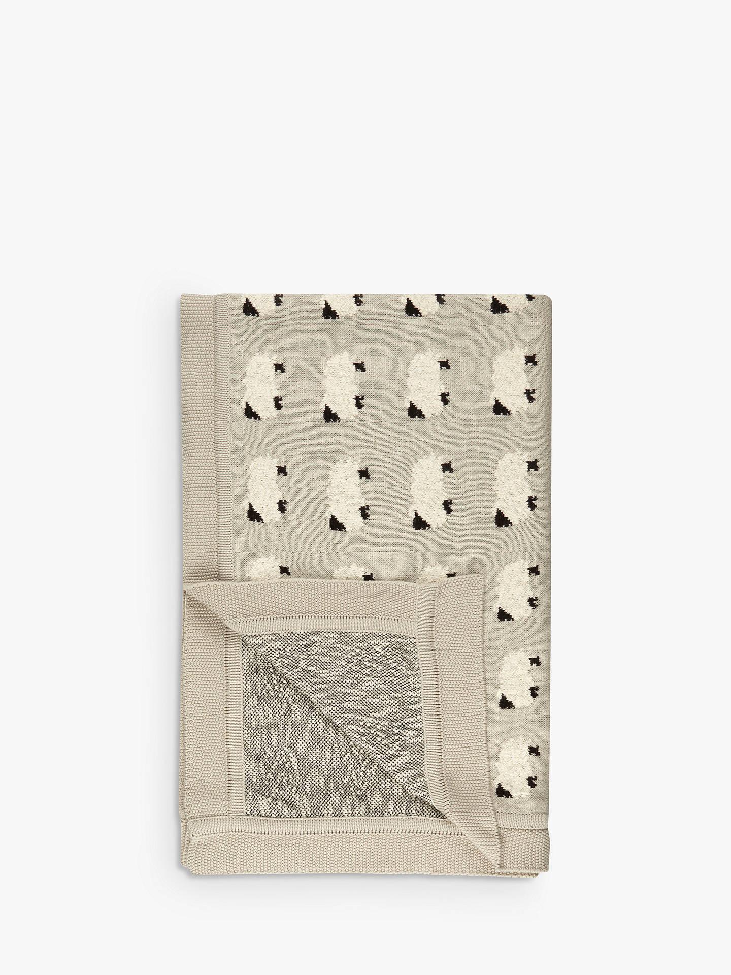 john lewis partners sheep throw grey at john lewis. Black Bedroom Furniture Sets. Home Design Ideas