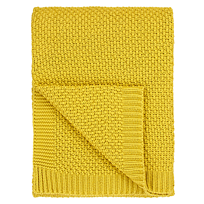 John Lewis Textured Knitted Throw