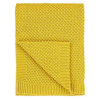 Yellow Throws For Sofas H M Home Mustard Yellow Throw