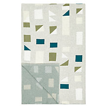 Buy John Lewis Felix Throw, Khaki Online at johnlewis.com