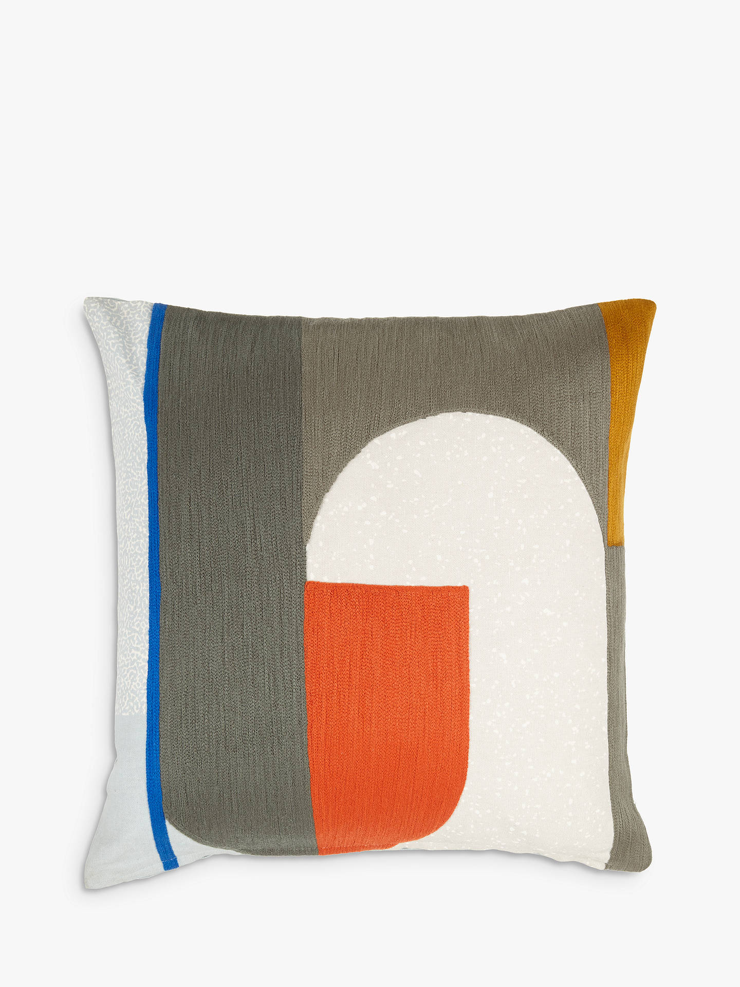 BuyHouse by John Lewis Circuit Cushion, Chilli Online at johnlewis.com