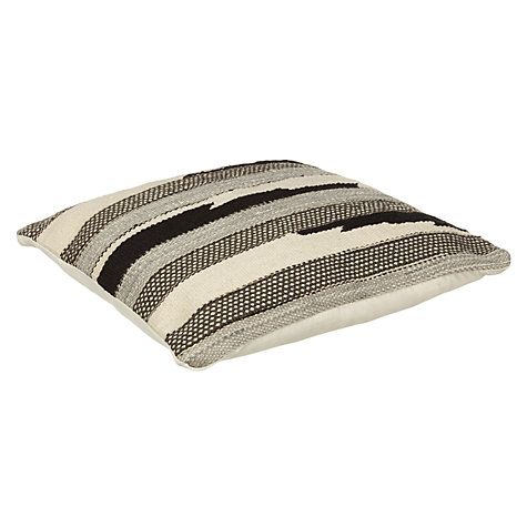 Buy John Lewis Ica Weave Cushion, Mono Online at johnlewis.com