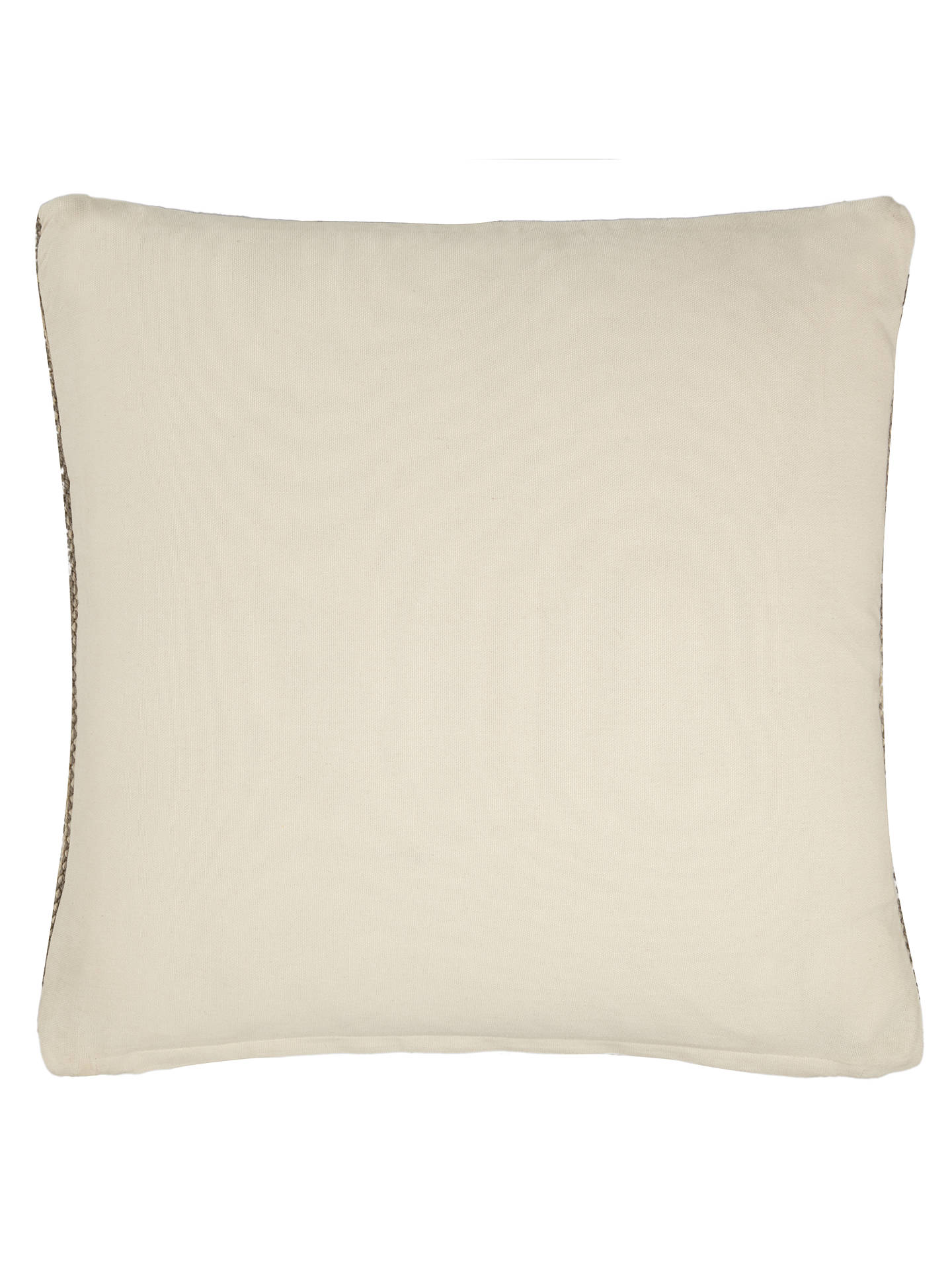 BuyJohn Lewis Ica Weave Cushion, Mono Online at johnlewis.com