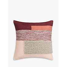 Buy Design Project by John Lewis No.134 Cushion, Plaster Online at johnlewis.com