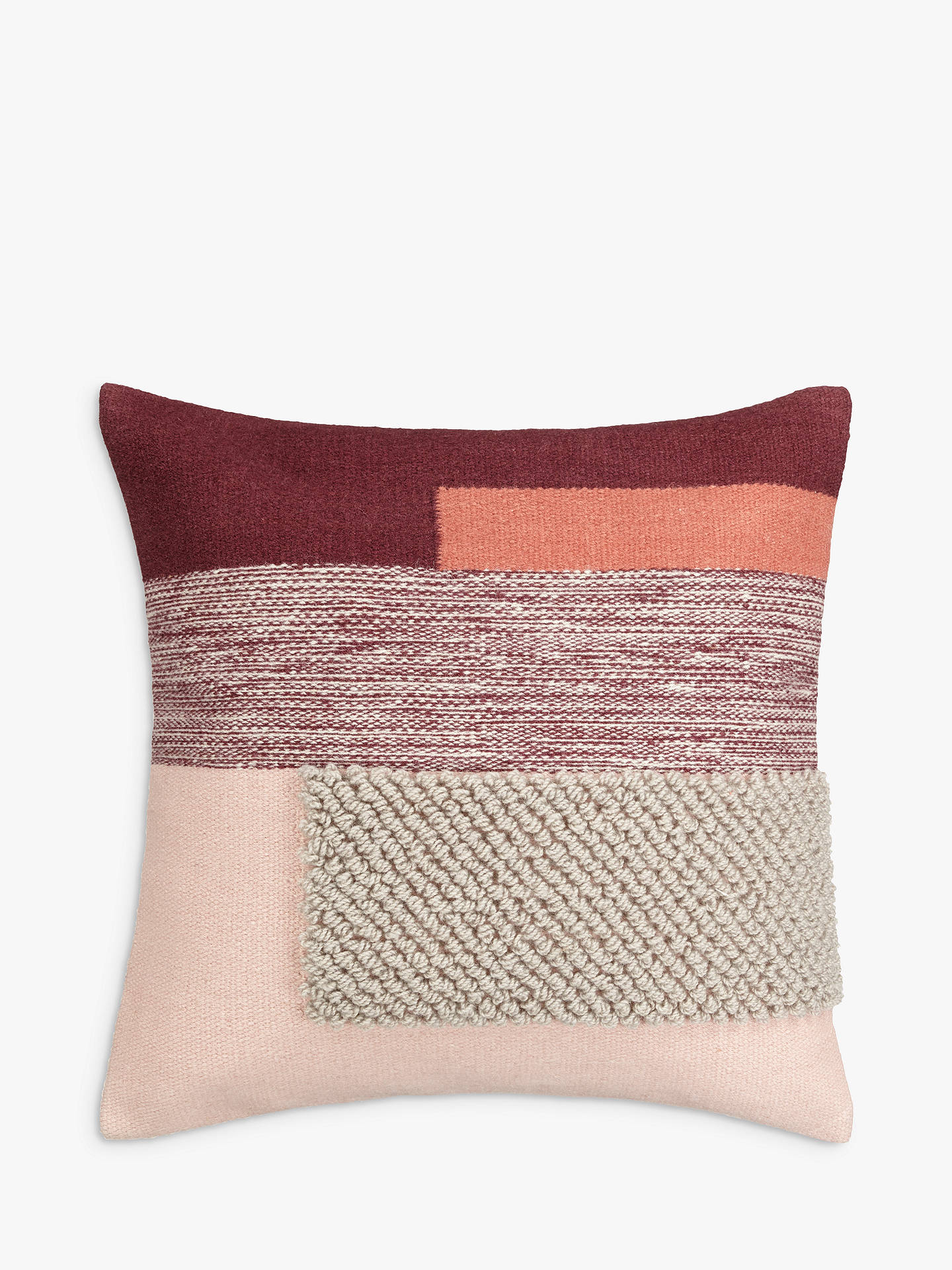 BuyDesign Project by John Lewis No.134 Cushion, Plaster Online at johnlewis.com