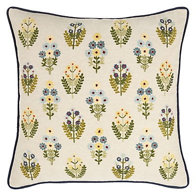 John Lewis Posy Flowers Cushion, Multi