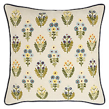 Buy John Lewis Posy Flowers Cushion, Multi Online at johnlewis.com