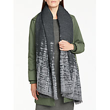 Buy John Lewis Cashmink Ombre Wrap, Charcoal Online at johnlewis.com