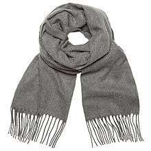 Buy John Lewis Cashmink Plain Scarf Online at johnlewis.com