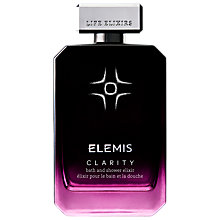 Buy Elemis Clarity Bath & Shower Elixir, 100ml Online at johnlewis.com