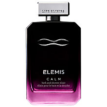 Buy Elemis Calm Bath & Shower Elixir, 100ml Online at johnlewis.com