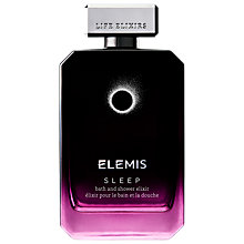 Buy Elemis Sleep Bath & Shower Elixir, 100ml Online at johnlewis.com