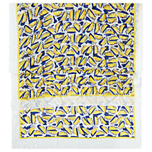 Buy Hobbs Sorrento Lemon Print Scarf, Yellow/Navy Online at johnlewis.com