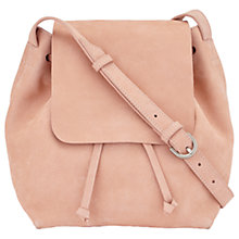 Buy Jigsaw Kit Leather Drawstring Across Body Bag Online at johnlewis.com