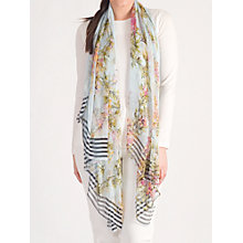 Buy Chesca Floral Beaded Scarf Online at johnlewis.com
