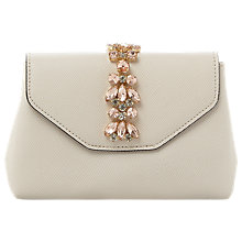 Buy Dune Sabrina Jewelled Micro Clutch Bag Online at johnlewis.com