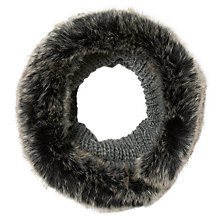Buy John Lewis Faux Fur Knit Snood Online at johnlewis.com