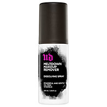 Buy Urban Decay Meltdown Makeup Remover Dissolving Spray, 100ml Online at johnlewis.com