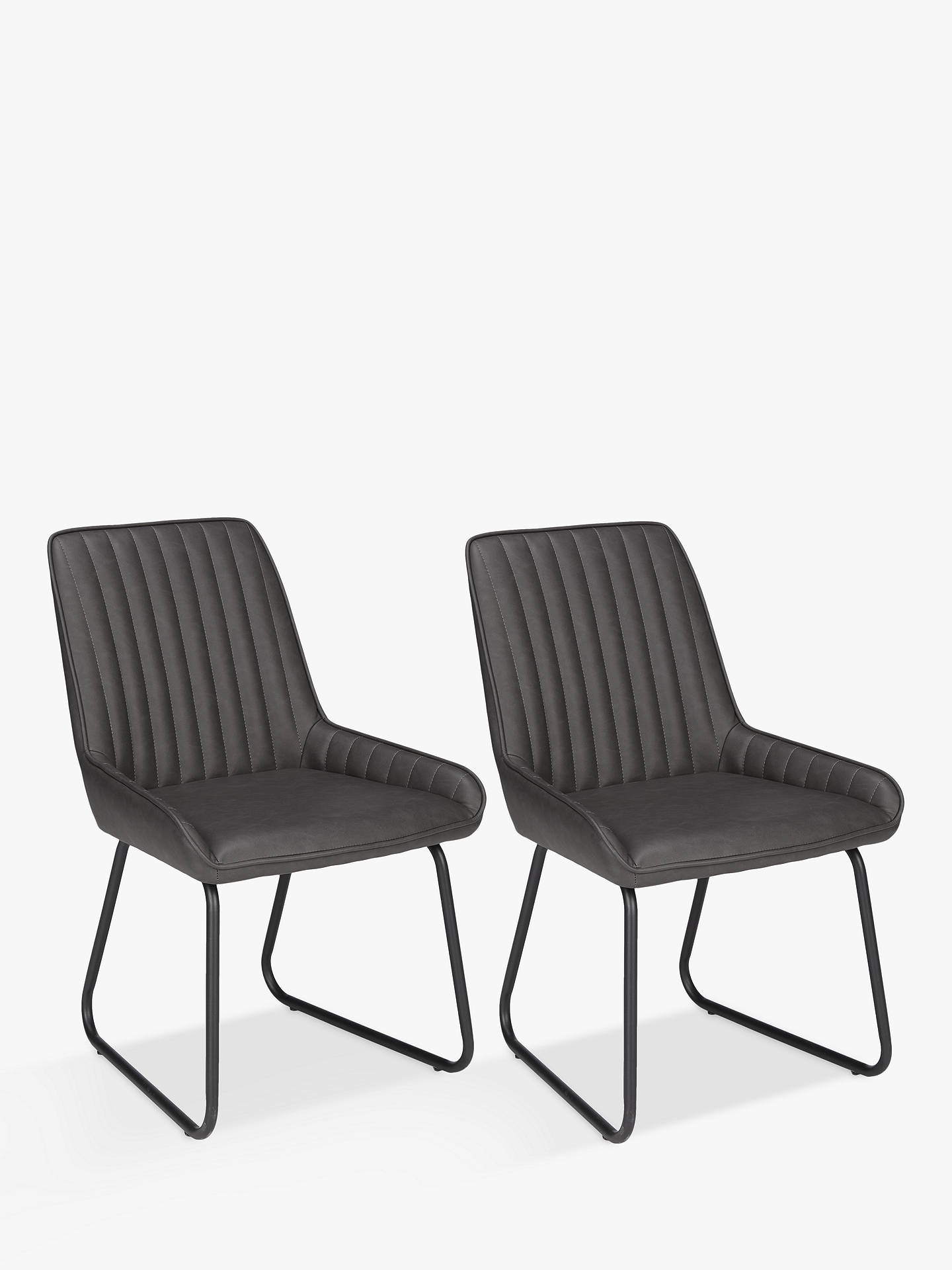 John Lewis Partners Brooks Side Dining Chairs Set Of 2 At John