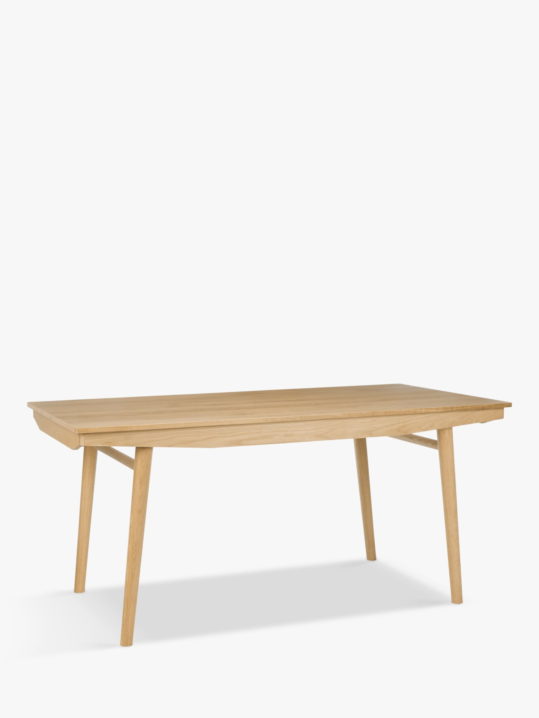 House By John Lewis Bow 6 8 Seater Extending Dining Table