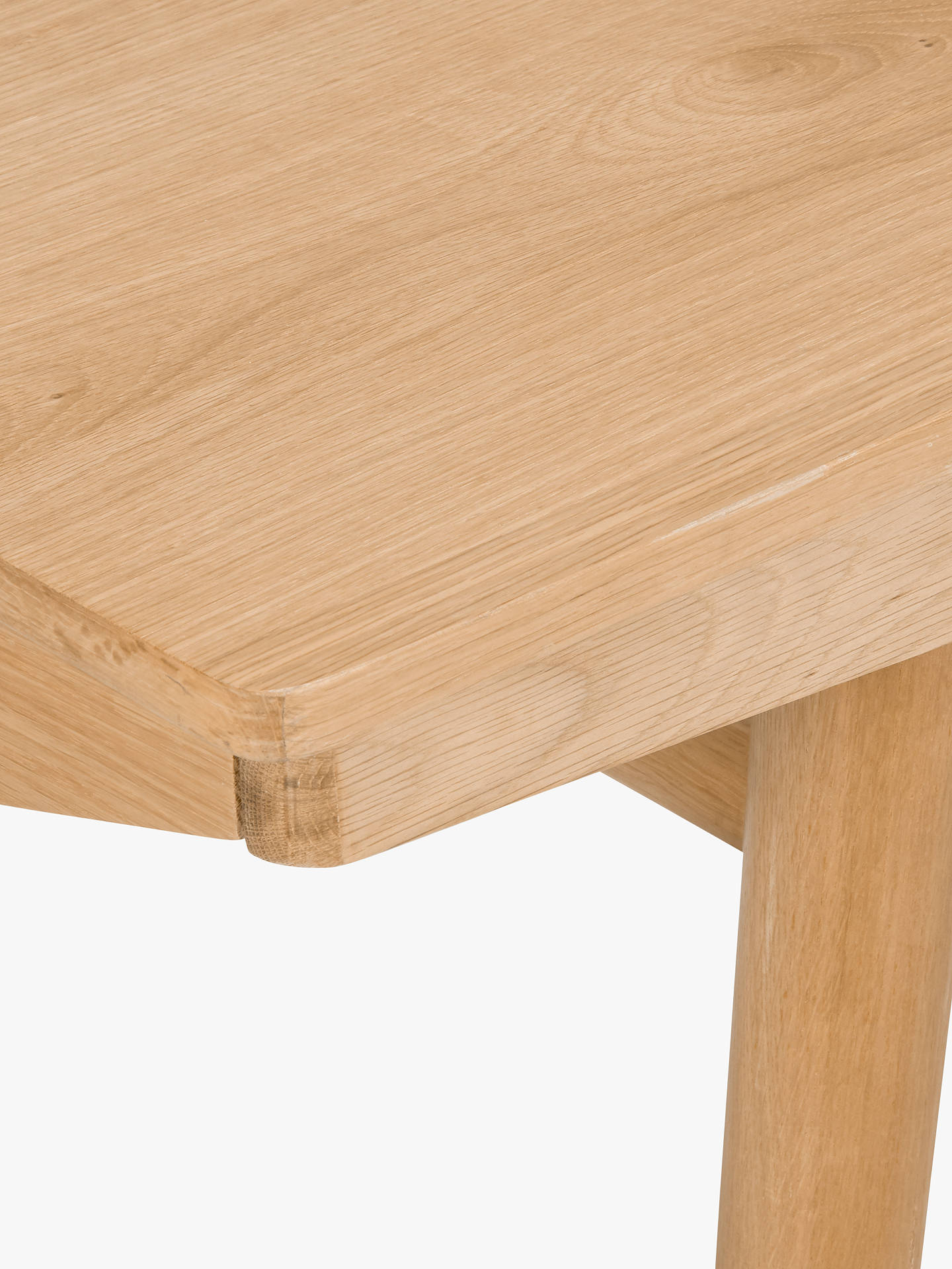 BuyHouse by John Lewis Bow 6-8 Seater Extending Dining Table, Oak Online at johnlewis.com