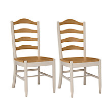 buy john lewis audley dining chairs set of two online at