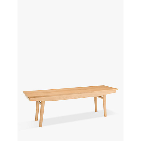 Buy House By John Lewis Bow 4 Seater Dining Bench Online At Johnlewis