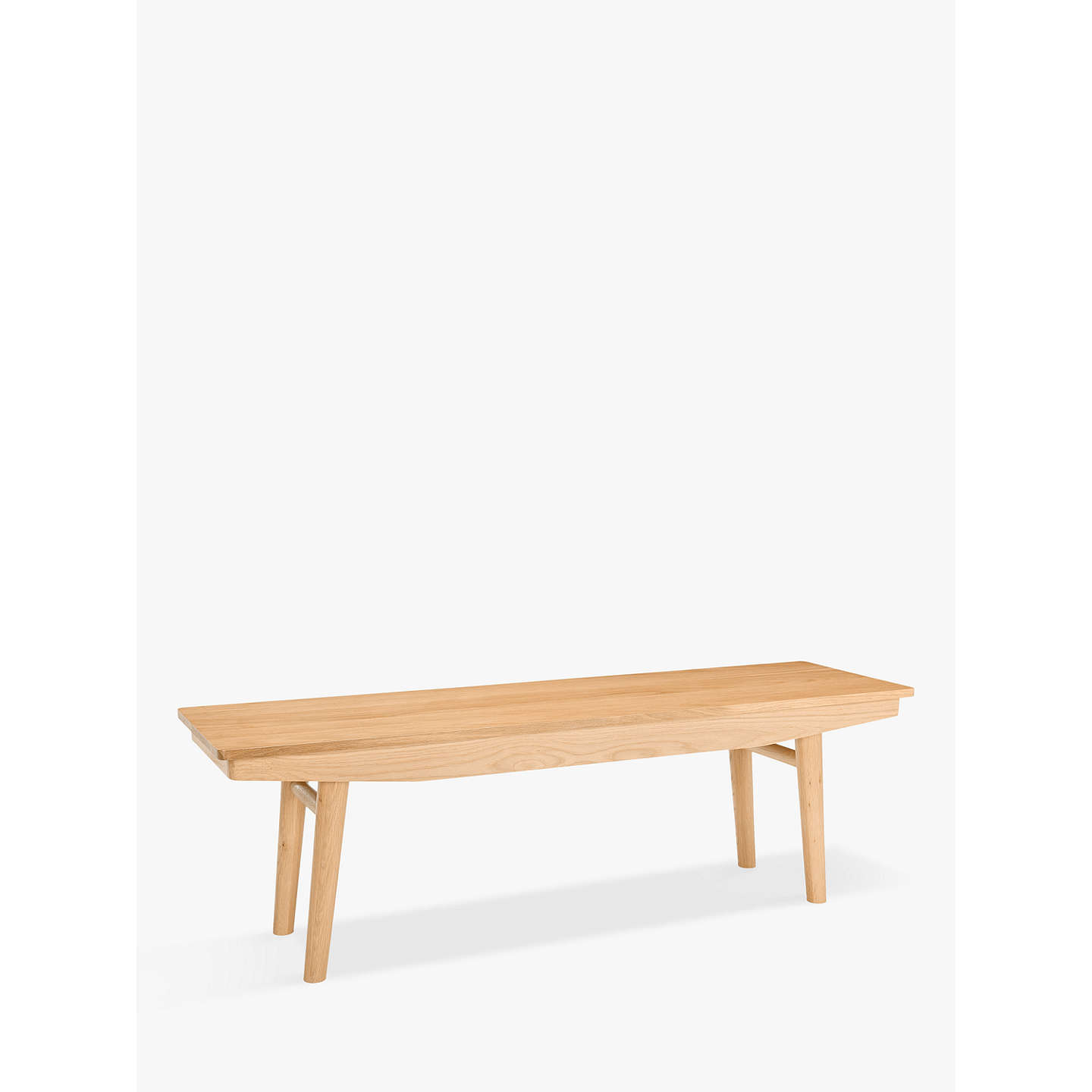 BuyHouse By John Lewis Bow 4 Seater Dining Bench Online At Johnlewis