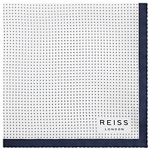 Buy Reiss Nou Silk Dotted Pocket Square Online at johnlewis.com