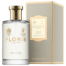 Buy Floris Peony & Rose Room Fragrance, 100ml Online at johnlewis.com