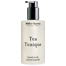 Buy Miller Harris Tea Tonique Hand Wash, 250ml Online at johnlewis.com