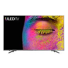 "Buy Hisense H50N6800 ULED HDR 4K Ultra HD Smart TV, 50"" with Freeview Play, Dark Grey Online at johnlewis.com"