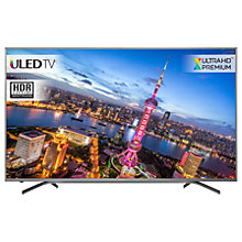 "Buy Hisense H70NU9700 ULED HDR 4K Ultra HD Smart TV, 70"" with Freeview HD, Grey, Ultra HD Premium Certified Online at johnlewis.com"