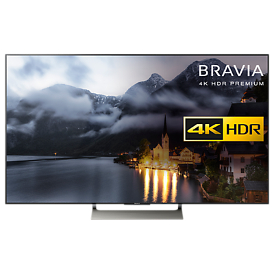 Sony Bravia KD49XE9005 LED HDR 4K Ultra HD Smart Android TV, 49 with Freeview HD & Youview, Black