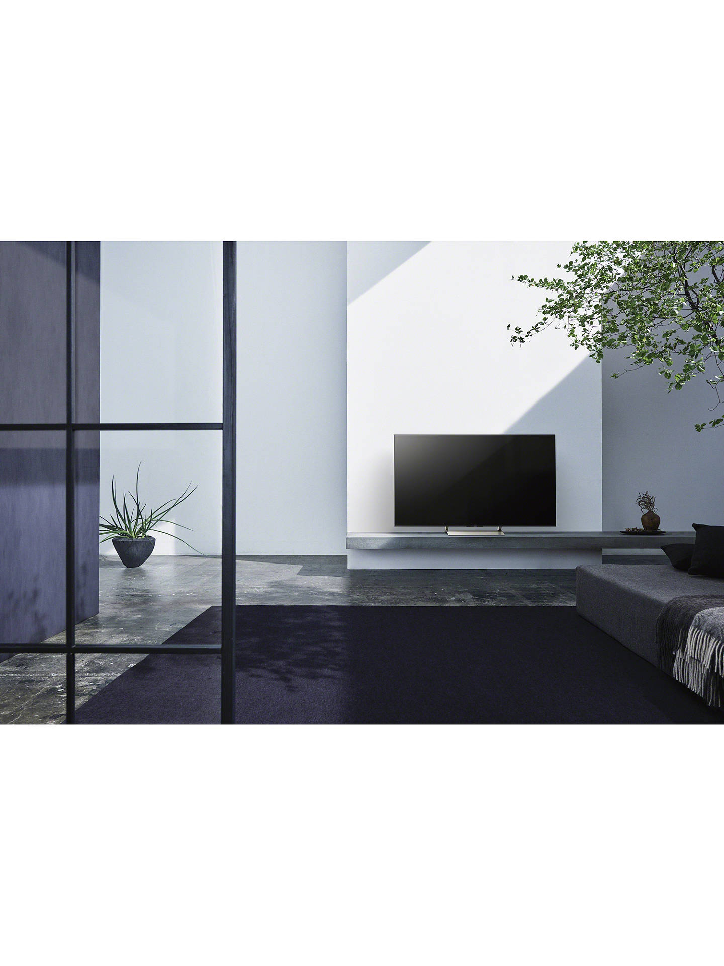 "Buy Sony Bravia KD49XE9005 LED HDR 4K Ultra HD Smart Android TV, 49"" with Freeview HD & Youview, Black Online at johnlewis.com"