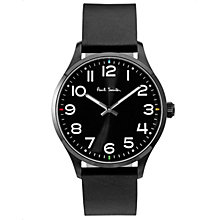 Buy Paul Smith Men's Tempo Leather Strap Watch Online at johnlewis.com