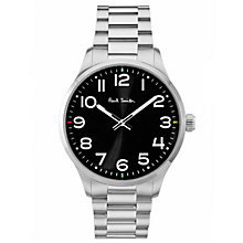 Buy Paul Smith Men's Tempo Bracelet Strap Watch Online at johnlewis.com