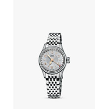 Buy Oris 01 594 7695 4061-07 8 14 30 Women's Big Crown Original Pointer Date Automatic Bracelet Strap Watch, Silver Online at johnlewis.com