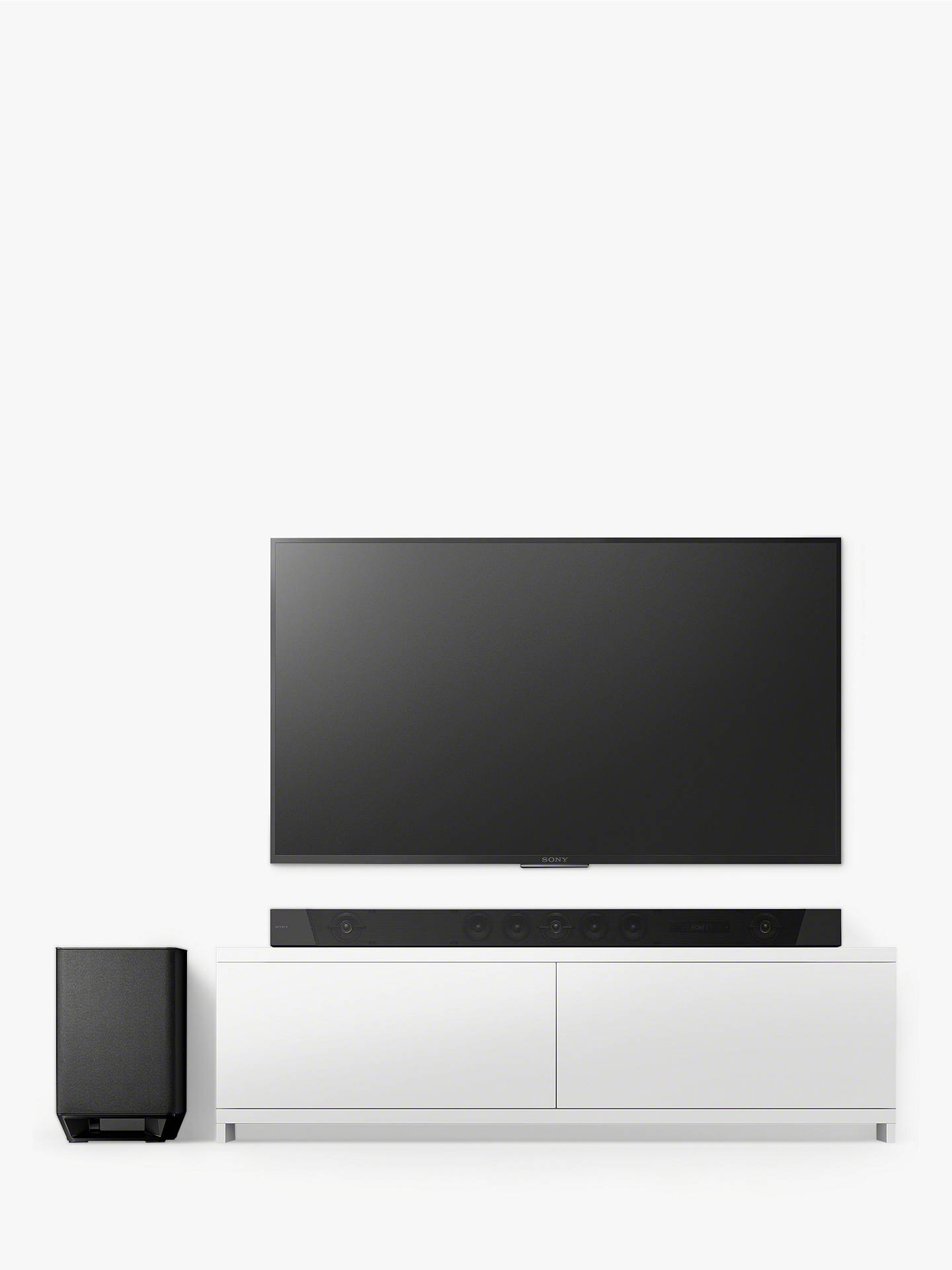 Buy Sony HT-ST5000 Wi-Fi Bluetooth NFC Sound Bar with Wireless Subwoofer, High Resolution Audio, Dolby Atmos, Chromecast & Multiroom Online at johnlewis.com