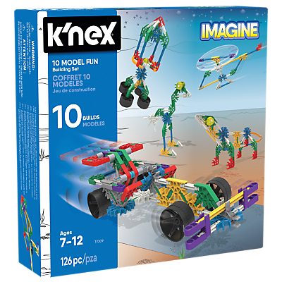 Image of K'Nex 17009 10 Model Fun Building Set